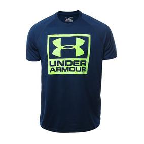545582ef05ea5 Under Armour Playera Boxed Para Hombre - Talla Chica-- Gym