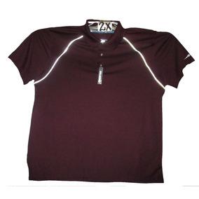 8d159fa93847e Camiseta Guinda Tipo Polo De Hombre Talla 2x American