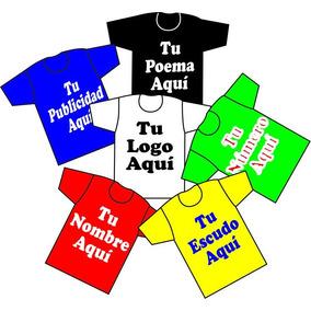 609093320f04d Playera Impresa En Serigrafia 1 Tinta Frente Y Vuelta  45.00 - Ropa ...