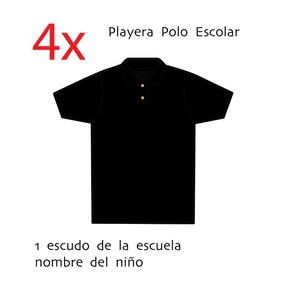 bf8d004bff570 Playera Tipo Polo Blanca Escolar - Ropa