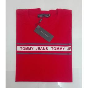 dad79ac796c Playera Tommy Hilfiger Color Roja Talla Xxl Para Hombre 03