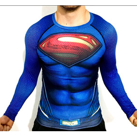 6772ad9918555 Superman Playera Dc Comics Superheroe Compresion Crossfit