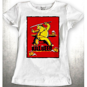 3f3561548861e Kill Beer Simpson Barney Kill Bill Blusa Dama Rott Wear
