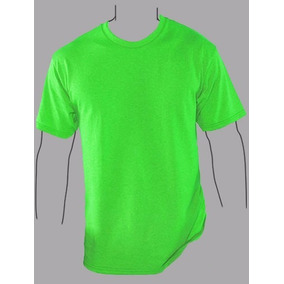 b495b5b51f267 Playera Yazbek - Verde Neon (talla 2xl) (manga Corta)