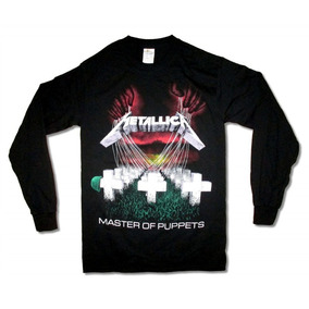 98d5d81e07cd6 Metallica Playera Manga Larga Master Of Puppets Srsx Metal