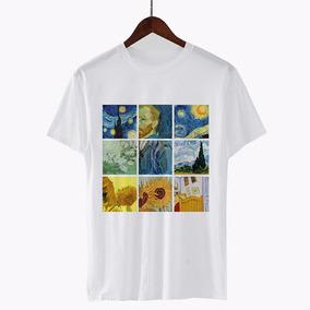 ccb6d0933d Moda 2018 Mujeres Camisetas Vincent Willem Van Gogh Impreso