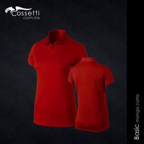 924d6e1da2fa6 Playera Tipo Polo Manga Corta Dry Fit Mujer Cossetti · 2 colores