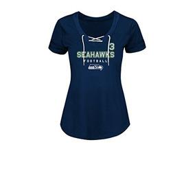 e37b2025b9f41 Nfl Seattle Seahawks Russell Wilson 3 Primeras Camisetas Sin