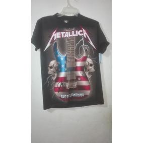 871de946df726 Playeras Metallica Varios Diseños 100% Calidad. 2 vendidos - Distrito  Federal · Playera De Rock Metallica Guitarra