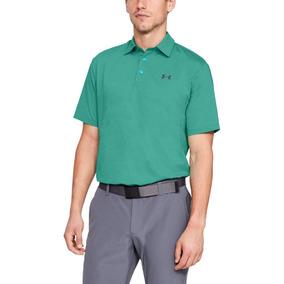 7710c90414c93 Playera Tipo Polo De Hombre Para Golf Under Armour ua Playof