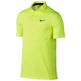 caa702aea3e26 Playera Tipo Polo Nike Movility Emboss Golf Neon Talla S