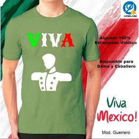 Playera 15 Septiembre Mexico Playeras Manga Corta En Mercado Libre