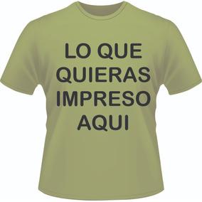 e64c2700f46e3 Playeras Impresas En Serigrafia Profesional   45.00 en Mercado Libre ...