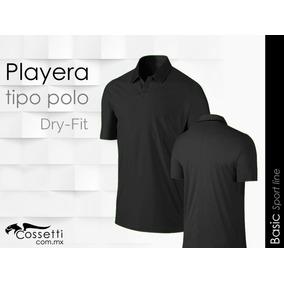 3e530f61b8803 Camiseta Tipo Polo Tecno Dri Manga Corta 22 Colores A Elegir