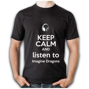 b6bd505abddcc Camisa De Caballero Negra Banda Imagine Dragons Listen To