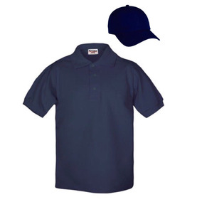 3cca549844aff Kit 5 Playeras Polo Optima Y 5 Gorras Gabardina 100% Algodón