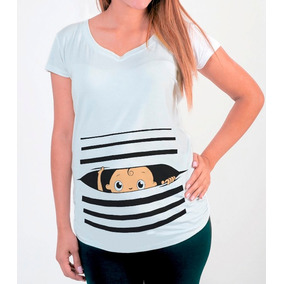 5b0c3f80a Playeras Para Embarazadas Divertidas en Mercado Libre México
