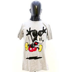 9de3a053813a8 Playera Mickey Mouse Licencia Disney Mascara De Latex