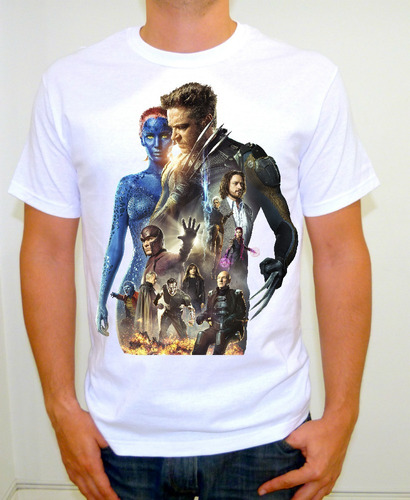 playeras anime,x-men