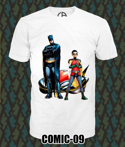 playeras batman super heroes moda calidad y estilo