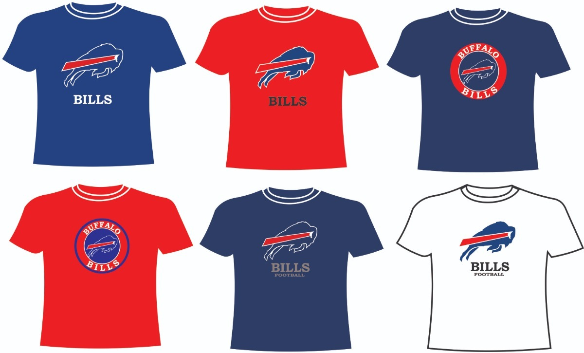 Playeras Buffalo Bills Nfl -   140.00 en Mercado Libre 00daabf79beb0