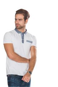 06782dee07 Playeras Camisas Polo Hombre Blanca Casual Lisa Moda A80189