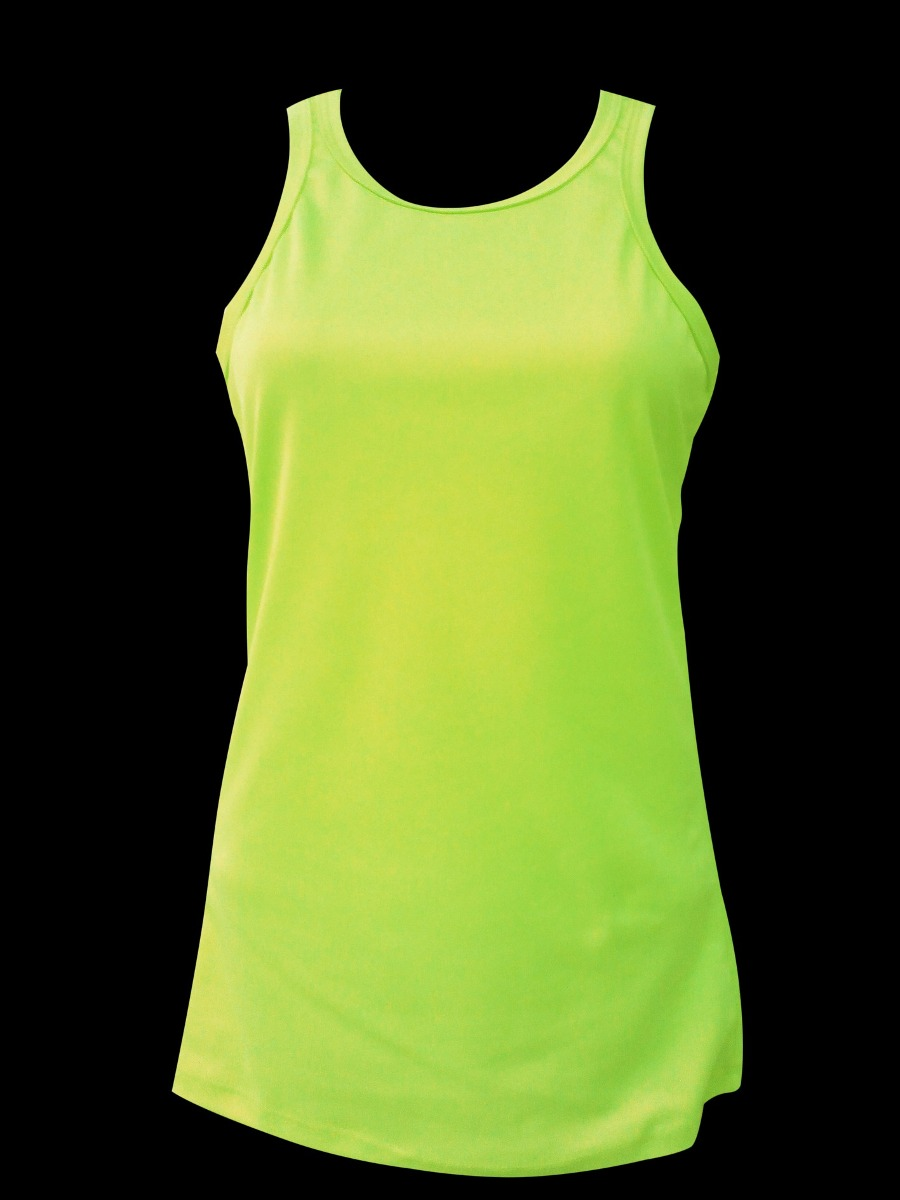 f3dfad60e05aa Playeras Color Neón Fosforescente Tipo Tank Top -   55.00 en Mercado ...