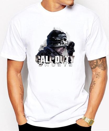 playeras d gamer panda xd call of duty diseños originales 3