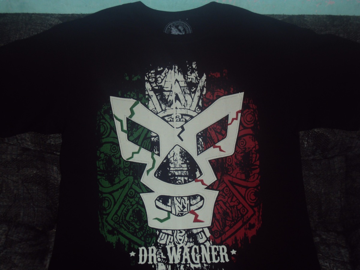 playeras d luchadores dr wagner lucha libre mexicana guerrer. Cargando zoom. 7fb1f930590cb