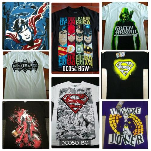 playeras dc comics traje joker, batman, harley quinn...