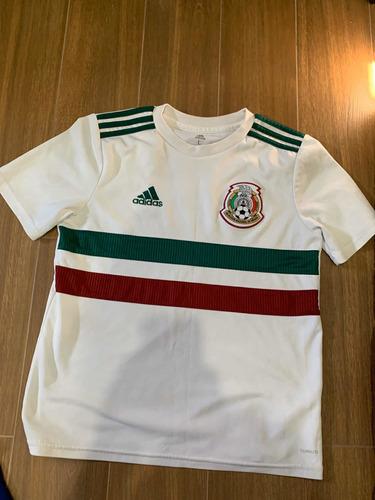playeras de fútbol - originales - adidas - nike -