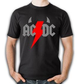 Playeras De Rock Cleen Alexe Ac Dc Modelos Originales 13