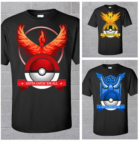 Playeras Equipos Pokemon Go Plus Moda Unisex Nuevos Modelos ... e2bcdb8adb61d