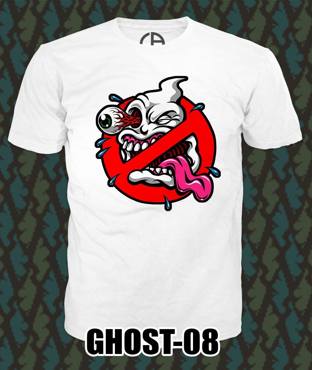 Playeras Ghost Busters Caza Fantasmas Varios Diseños -   150.00 en ... d43c4f5ca9401