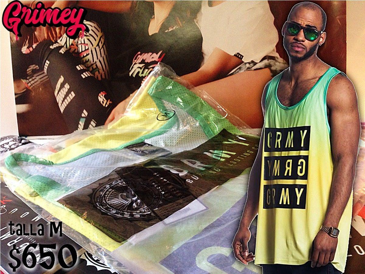 Playeras Grimey Burning And Looting Co. -   750.00 en Mercado Libre 100ed8df995
