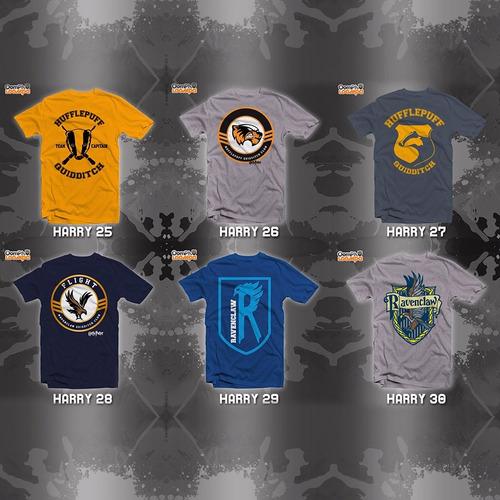 playeras harry potter - 30 diseños disponibles!!!!