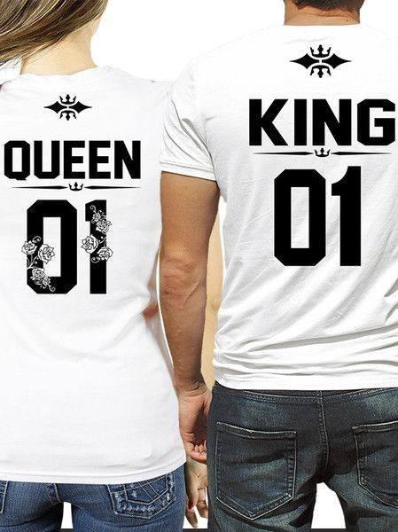 d82dc078b6516 Playeras King   Queen -   400.00 en Mercado Libre
