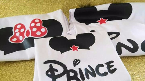 playeras king, queen, prince  family mouse
