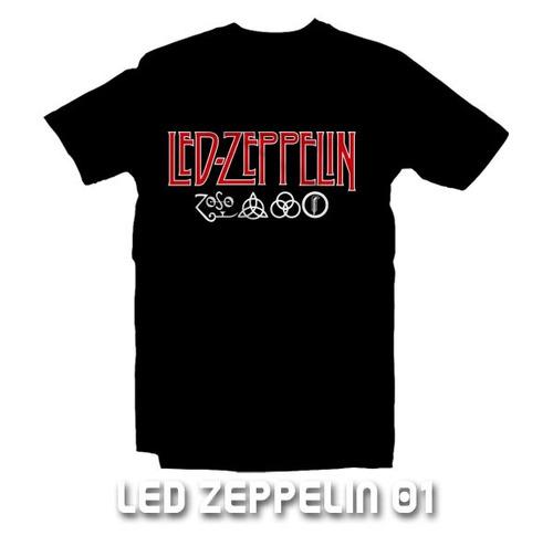 playeras led zeppelin - 9 diseños disponibles !!