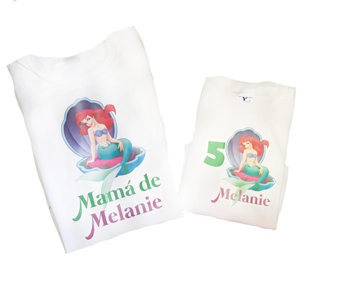 Playeras Mama E Hija Personalizadas Cumpleanos Envio Gratis