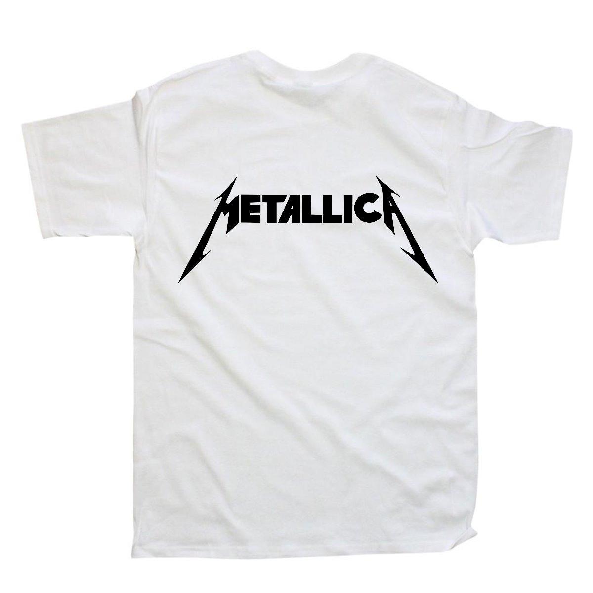d88c98ec356b7 Playeras Metallica Varios Diseños 100% Calidad -   133.00 en Mercado ...