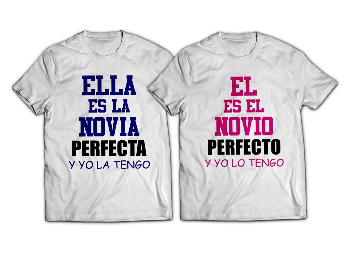 3cf431a62c4e8 Playeras Novios La Pareja Perfecta Pareja Envio Gratis -   399.00 en ...