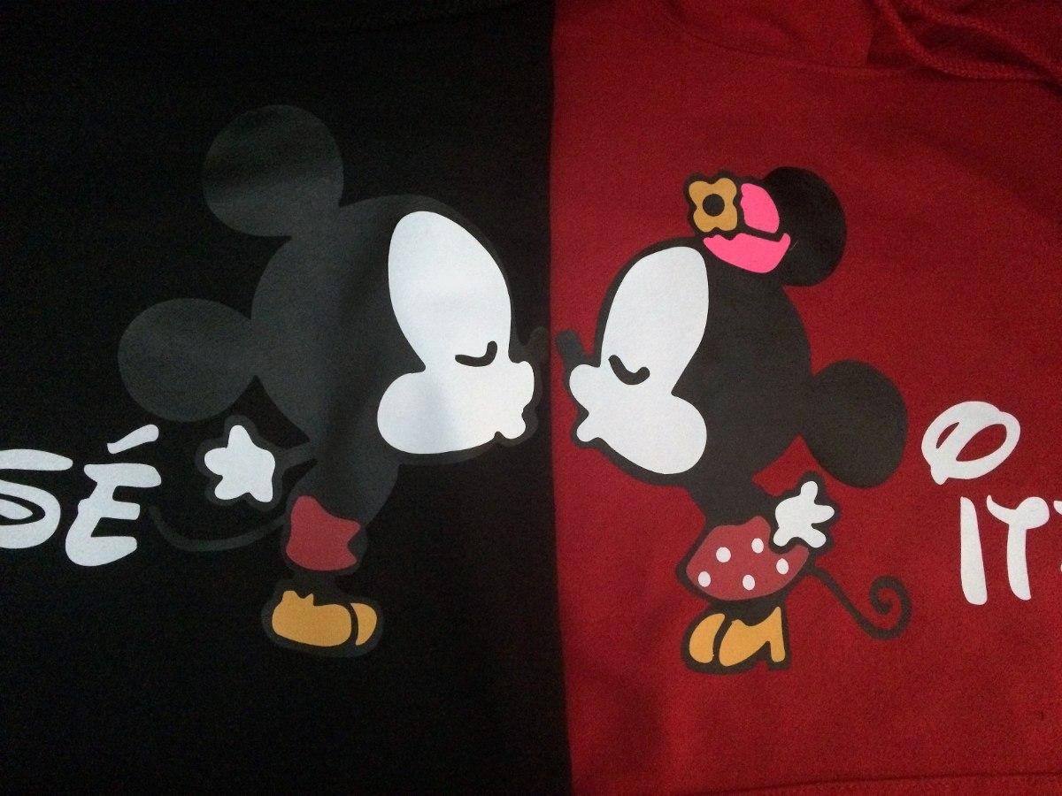Playeras Novios Mickey Mouse Parejas I Love San Valentin