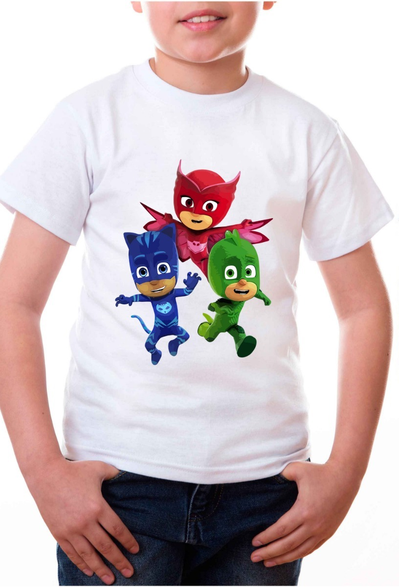 Playeras Para Niños Panda Xd Pj Masks Modelos Originales 2 ...