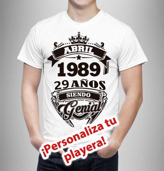 5d63e61f8f5c0 Playeras Personalizada Para Cumpleaños - Serigrafia -   150.00 en ...