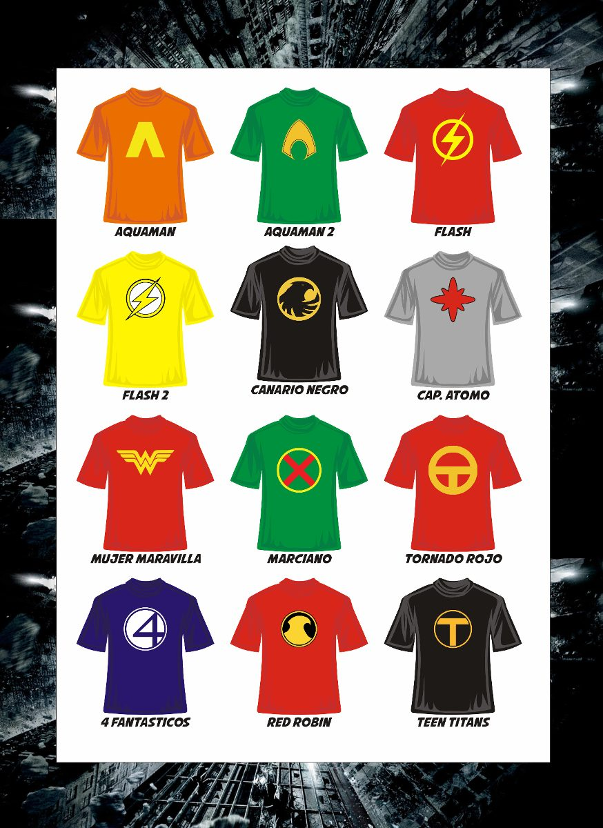 Playeras Superheroes Manga Corta Jersey Batman Superman Y 5eed0f0d48c73