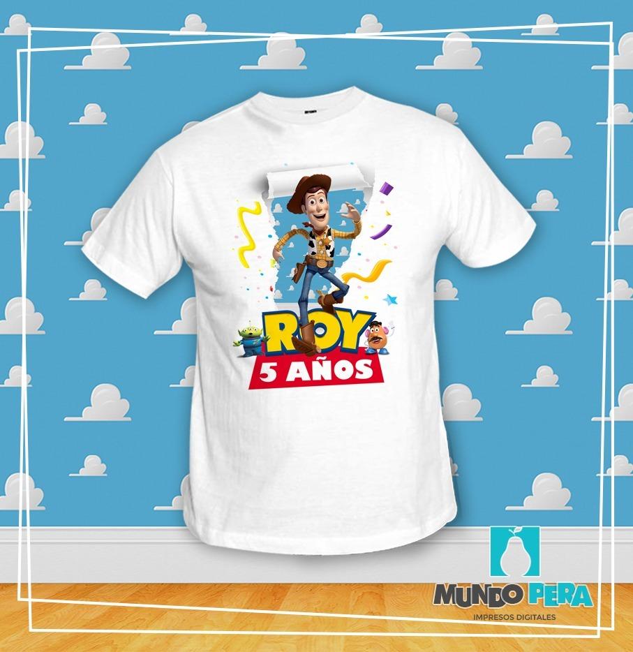 35459a1f6 Playeras Personalizadas Fiestas Infantiles Toy Story -   65.00 en ...
