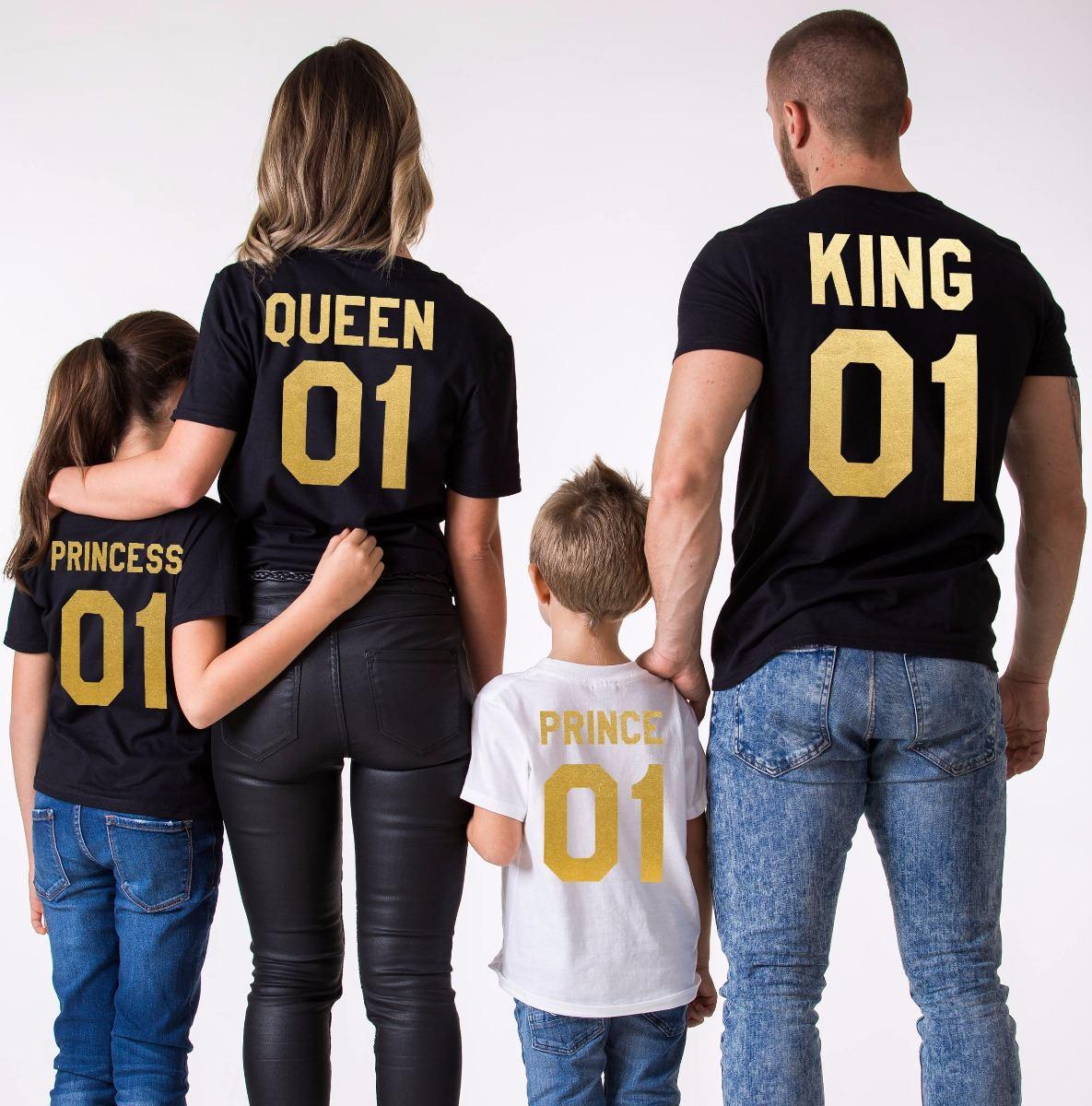 Playeras Personalizadas Para Familia De 4 Integrantes