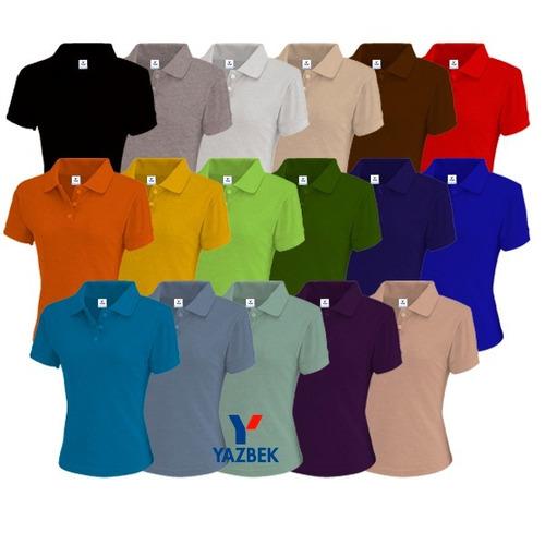 playeras polo yazbek -18 colores disponibles!!!