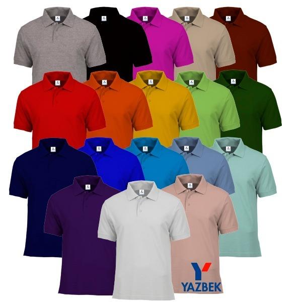 29d61a633399c Playeras Polo Yazbek Dama Y Caballero-18 Colores Disponibles ...